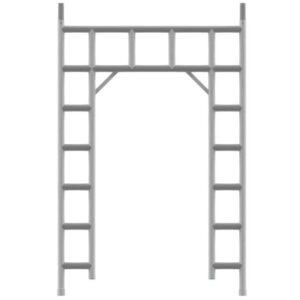 135 Doorloopframe Midden
