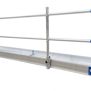 Loopbrug leuning 4 meter incl leuninghouders